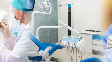 A detailed view of dental clinic in Singapore
